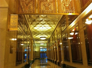 One of the many examples of Art Deco to grace Chicago